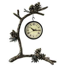 Pinecone and Branch Clock | SPI Home | 33464