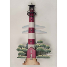 Assateague Lighthouse Replica Metal Wall Sculpture | TI Design | TICA767