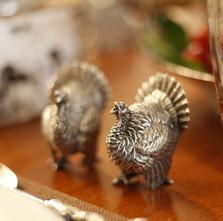 Turkey Salt Pepper Shakers | Vagabond House | VHCK116T -2