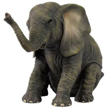 200 elephant gifts elephant decor elephant stuff sitting baby elephant sculpture negle Gallery