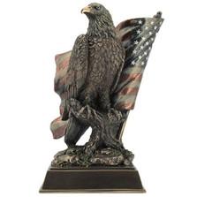 Eagle Sculpture with Stars N Stripes | Unicorn Studios | USIWU76584A4