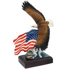 Bald Eagle Sculpture American Pride | Unicorn Studios | WU76432AA