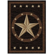 Quick Star Area Rug Western Hearthside Collection