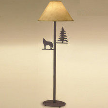 Moose Floor Lamp Moose floor lamp pine tree lighting decor furnishing wolf pine tree floor lamp audiocablefo