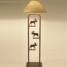 Moose Floor Lamp Moose floor lamp pine tree lighting decor furnishing moose fortress floor lamp audiocablefo