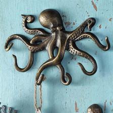Swimming Octopus Key Hook | 34061 | SPI Home