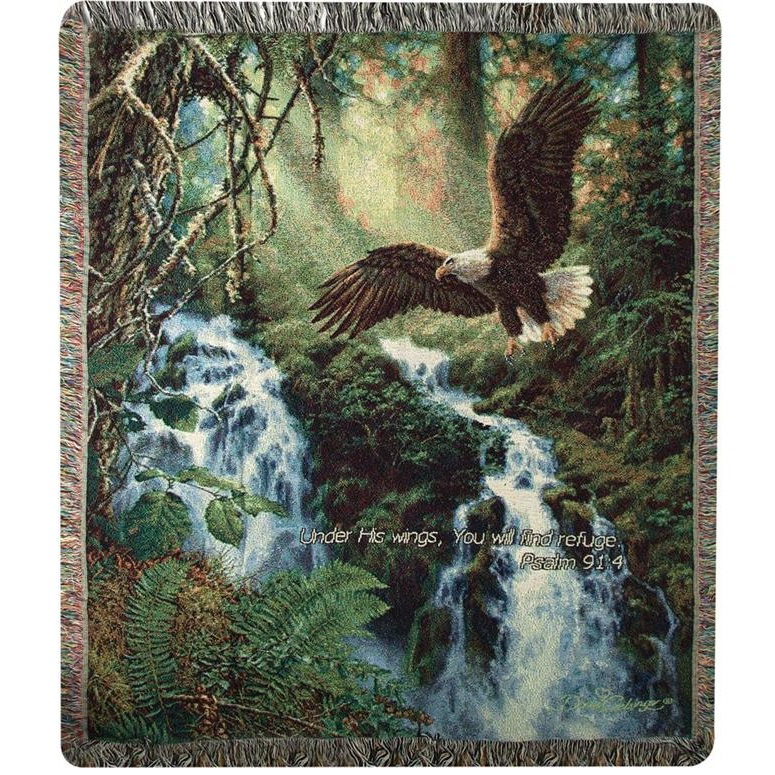Eagle Inspirational Tapestry Throw Blanket Eagles Flight Manual Awesome Eagles Throw Blanket