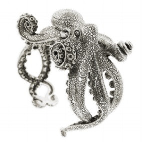 Octopus Bracelet Sterling Silver Kabana