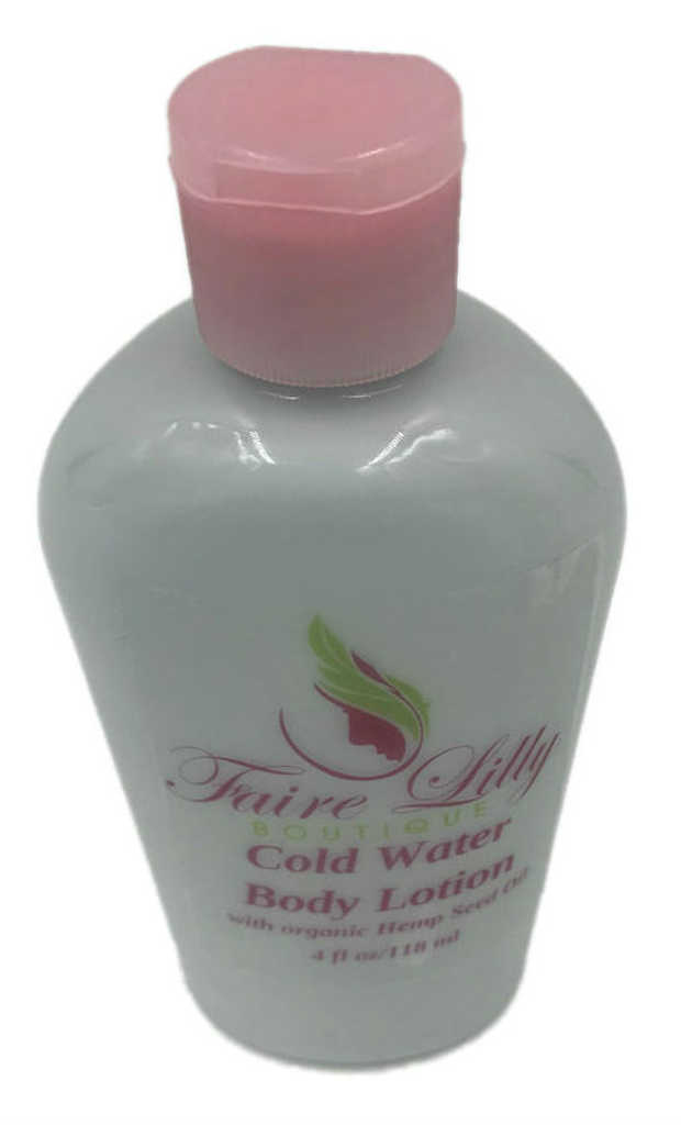 Cold Water Hemp Seed Oil Lotion