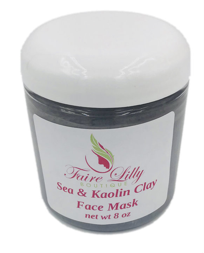 Sea & Kaolin Face Mask