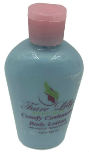 Comfy Cashmere Hemp Seed Oil Lotion