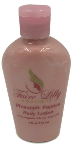 Pineapple Papaya Hemp Seed Oil Lotion