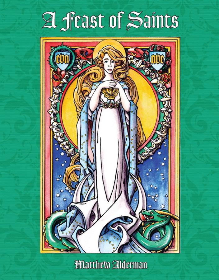 A Feast of Saints Coloring Book