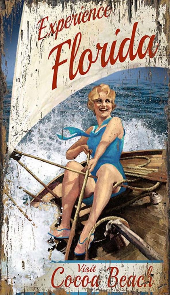 Art Calendar Florida : Experience florida vintage art custom
