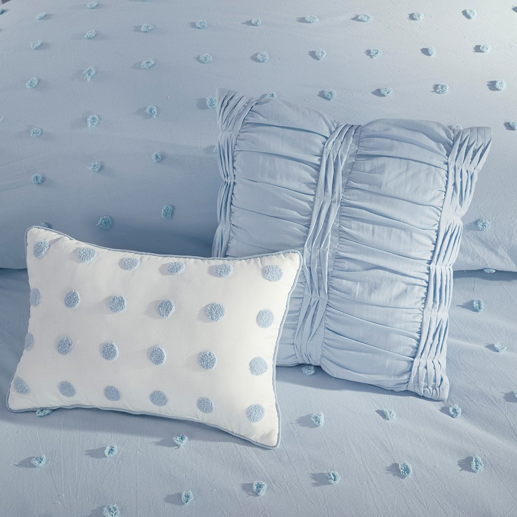 culpeper blue comforter piece light queen set