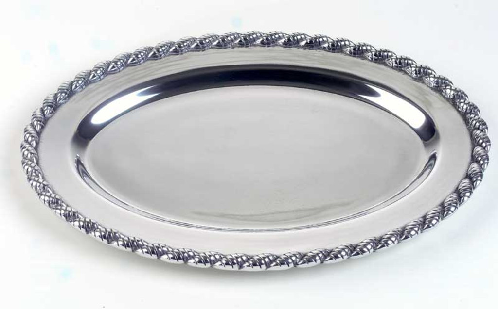 Masthead Polished Oval Tray