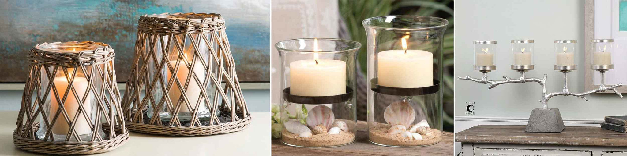 Candle holders and lanterns for beach homes enjoy the romance and warmth that only candle light can bring to a beach house candle lanterns and large hurricanes are wonderful decorating accents reviewsmspy