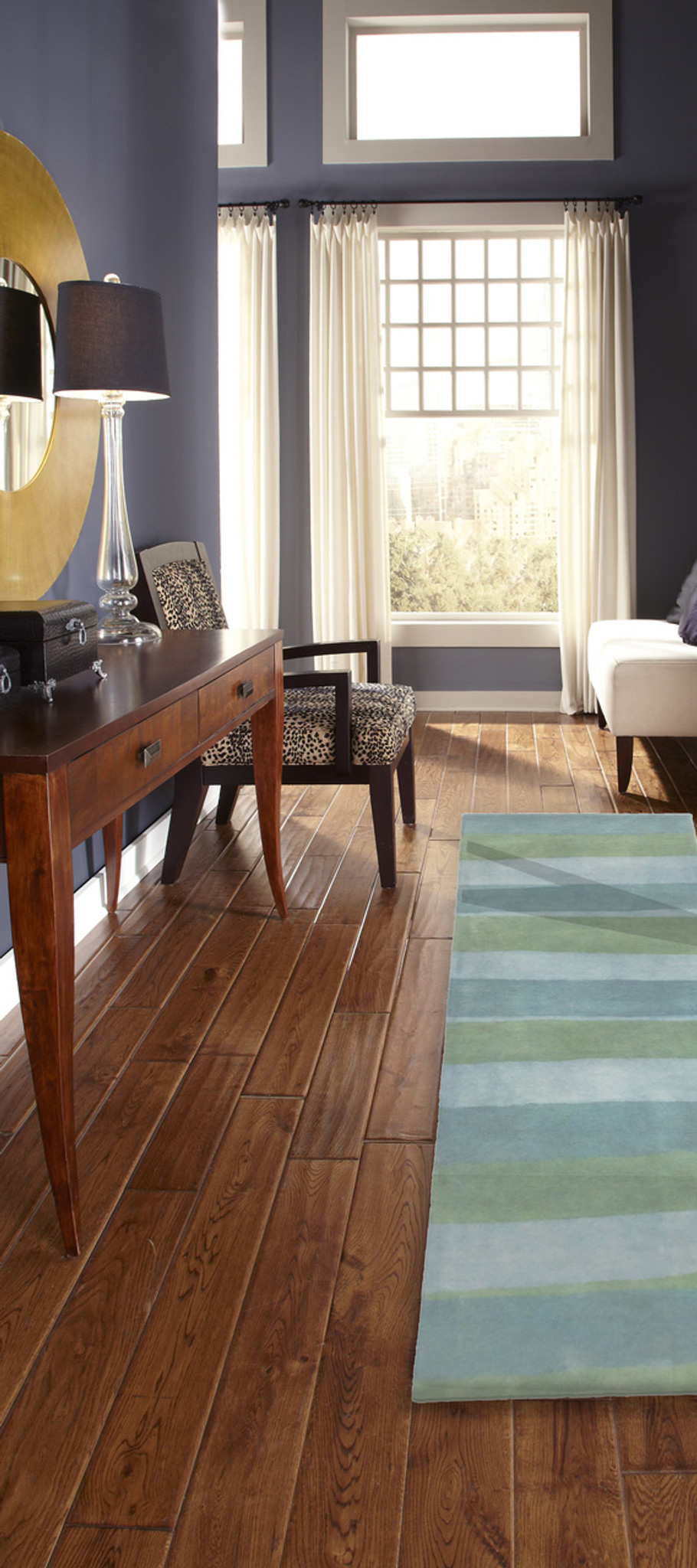 Piazza Sea Breeze Stripes Area Rug