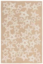 Starfish Tan and Ivory Rug