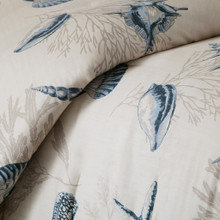 Bayside Nantucket queen Size Comforter Set - close up