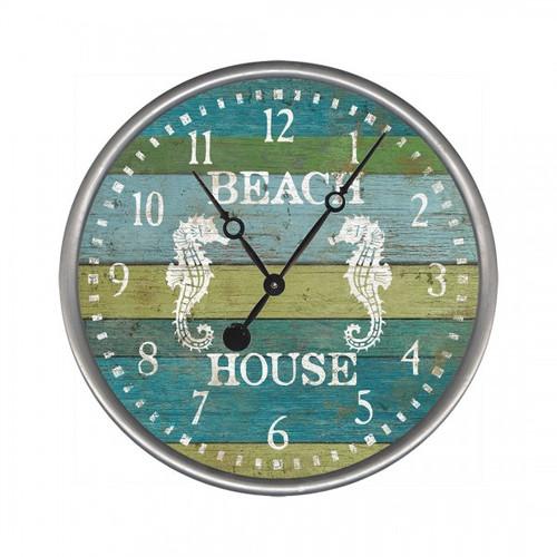 Coastal And Nautical Themed Wall Clocks