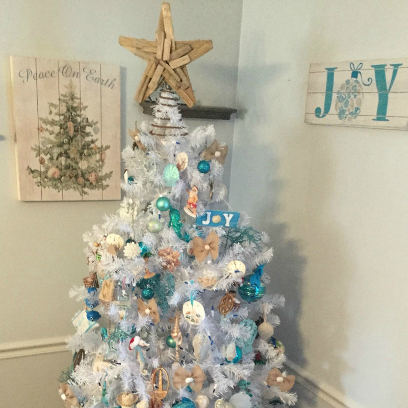 winning coastal christmas tree - Coastal Christmas Decorations For Sale