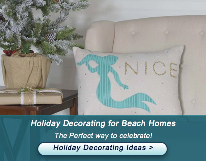 Holiday Decorating for Beach Homes