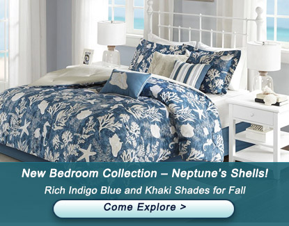 New Bedroom Collection – Neptune's Shells