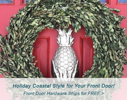 Add Coastal Style to Your Front Door for the Holidays
