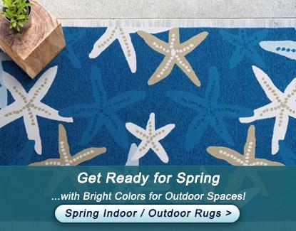 Spring Indoor Outdoor Rug Sale