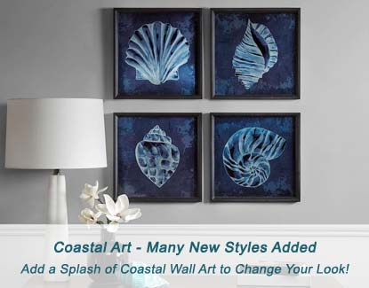 Add a Splash of Coastal Wall Art