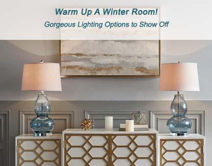 Winter Room Lighting Options