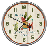 Relax Adirondack Chair Custom Clock