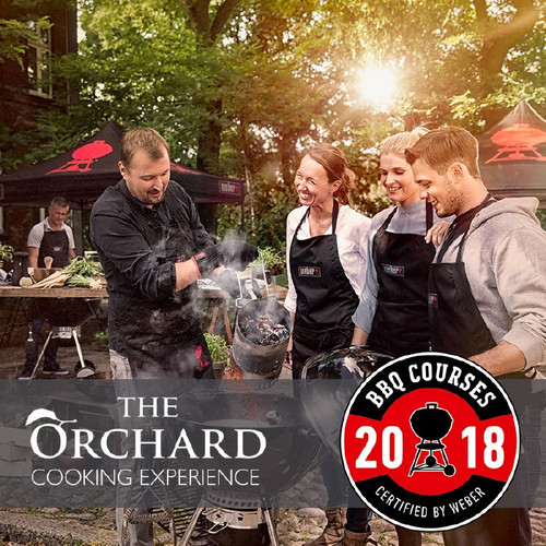 Weber World BBQ Cooking Experience At The Orchard | Thursday 25th October 2018