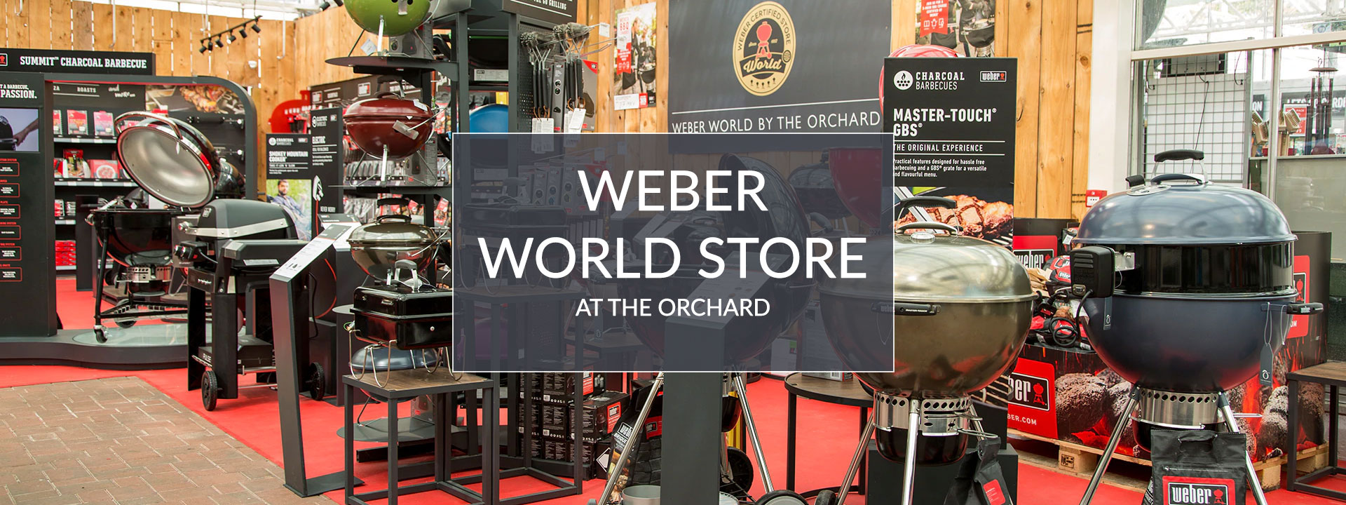 Weber World Store at The Orchard