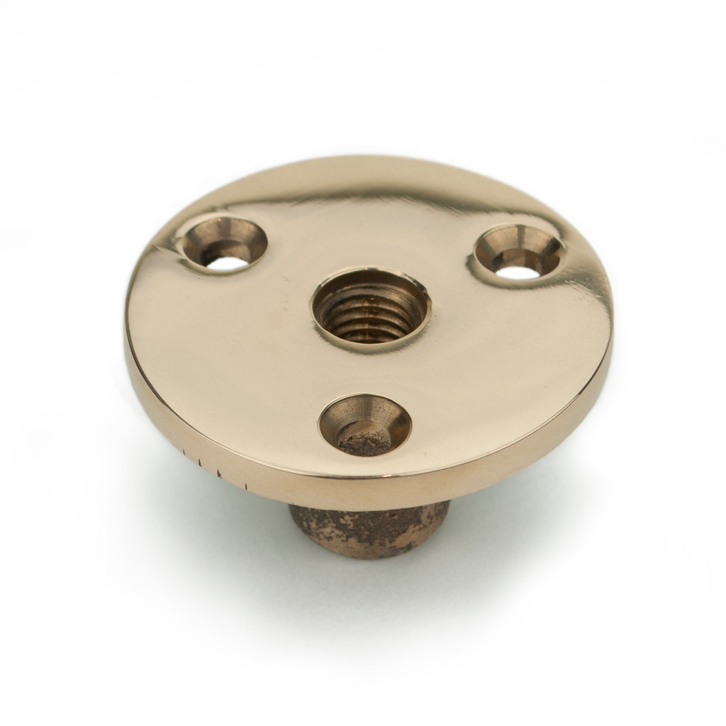 Davey & Co. threaded deck plate. Fits metric size stud: M8, M10, M12.