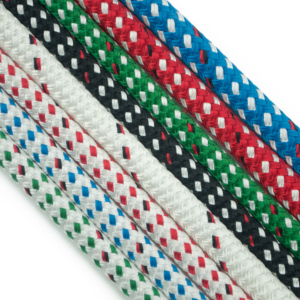 Endura Braid by New England Ropes. High Performance Dyneema-Polyester line.