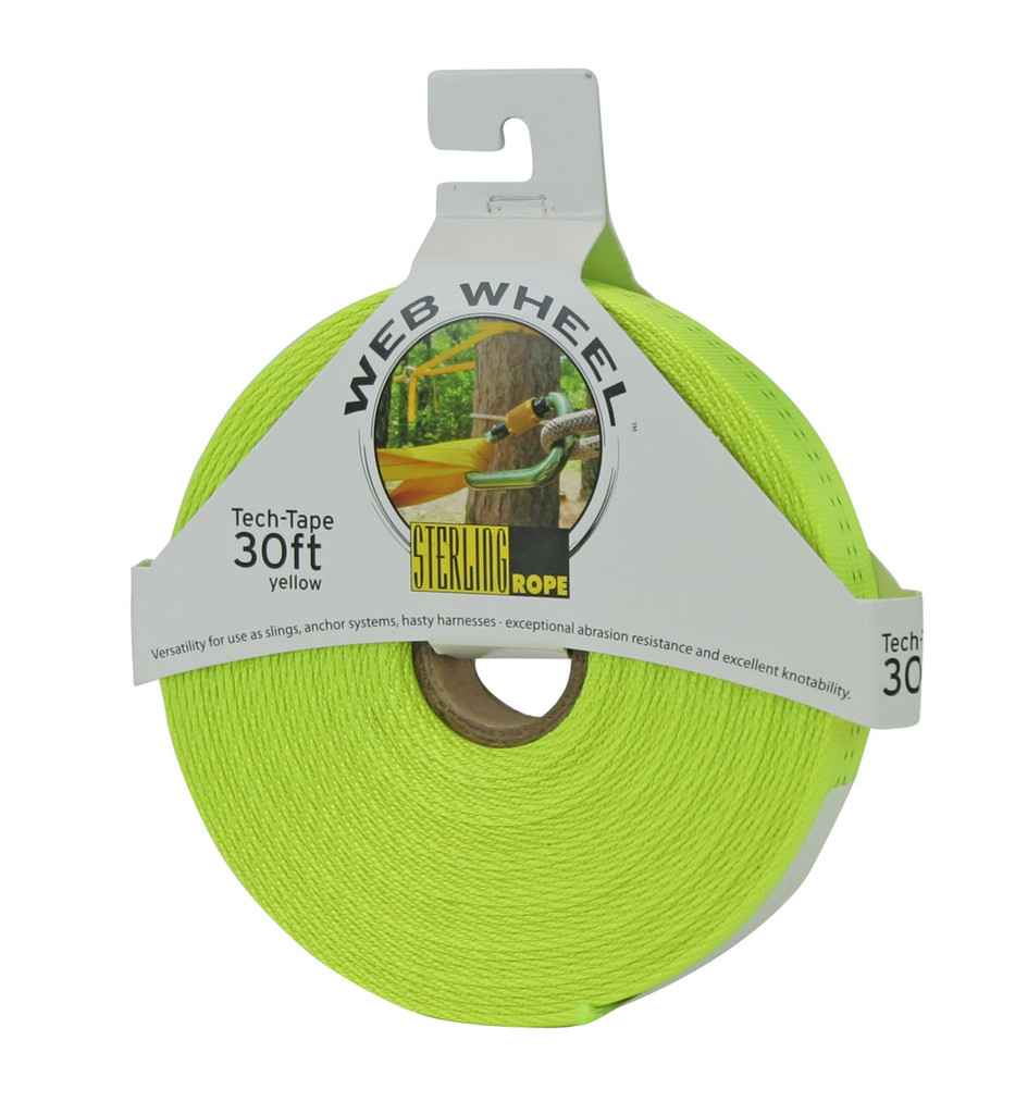 Tubular Nylon Webbing - Sterling Web Wheel Tech Tape 30 Ft.