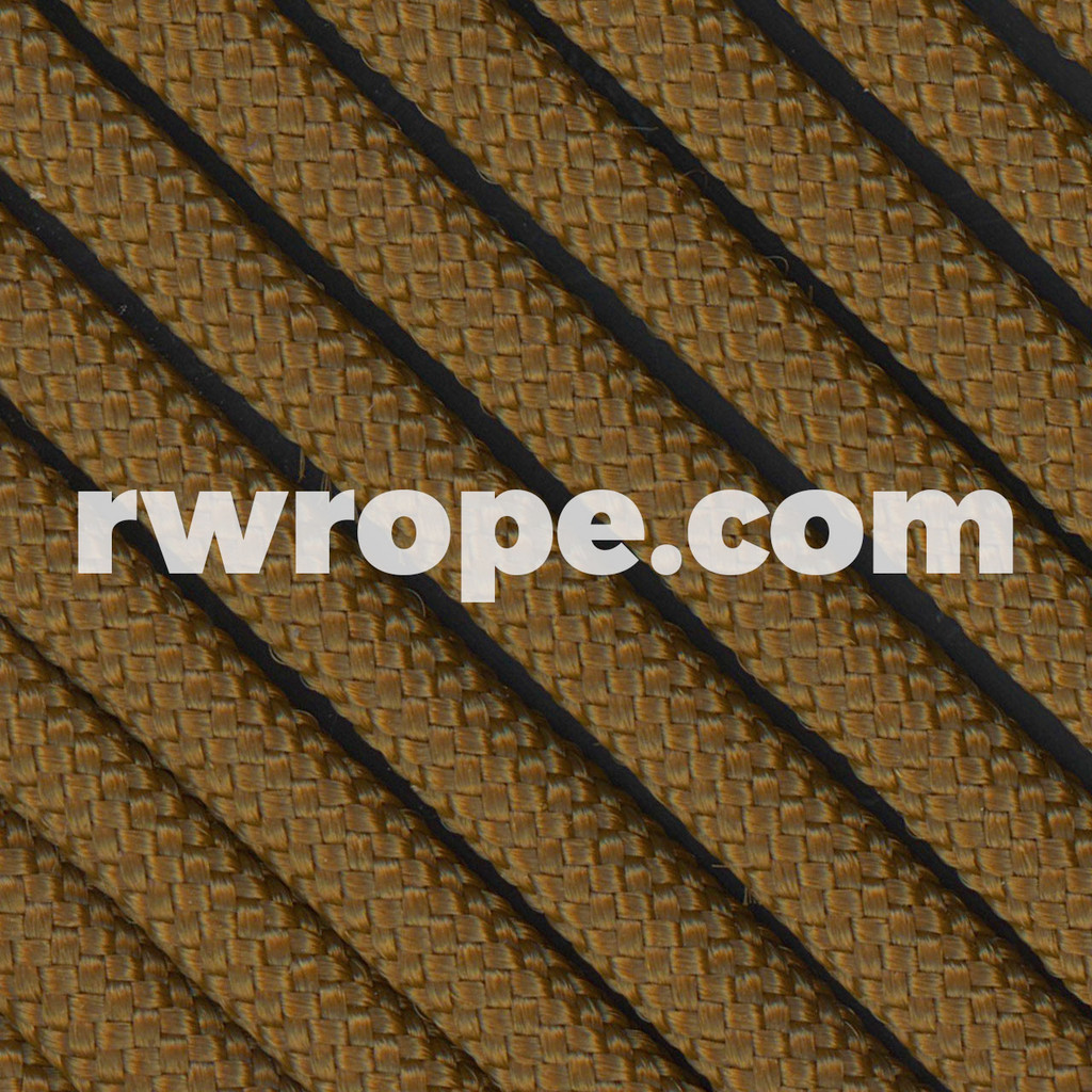 Paracord 425 in Coyote Brown.