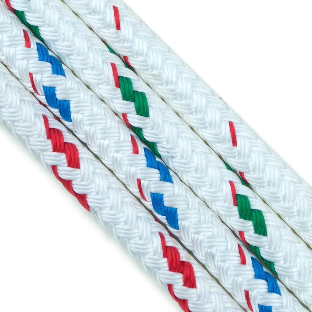 New England Ropes-Teufelberger Sta-Set rope whites with flecks