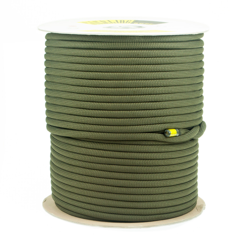 "Sterling SuperStatic2 1/2"" Static Rope - Olive Drab Full Spool (200m)"