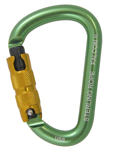Sterling Falcon Autolock Small Pear Carabiner