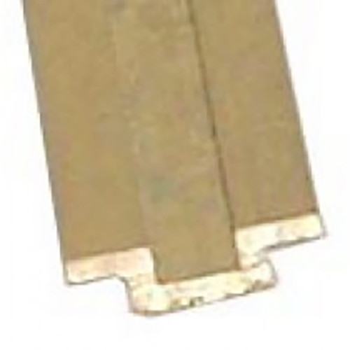 External brass sail track by Davey and Company.