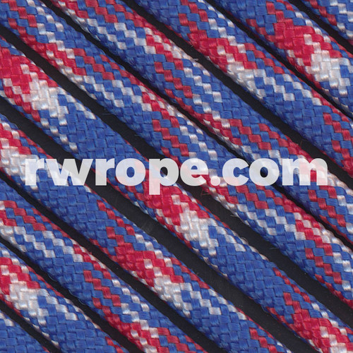Paracord 550 in Red, White, & Blue Camo