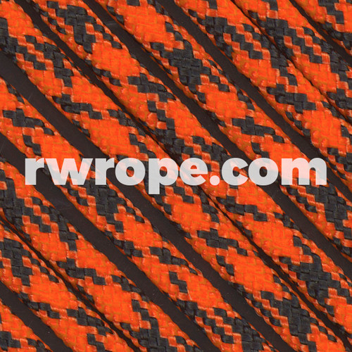 Paracord 550 in Neon Orange Camo