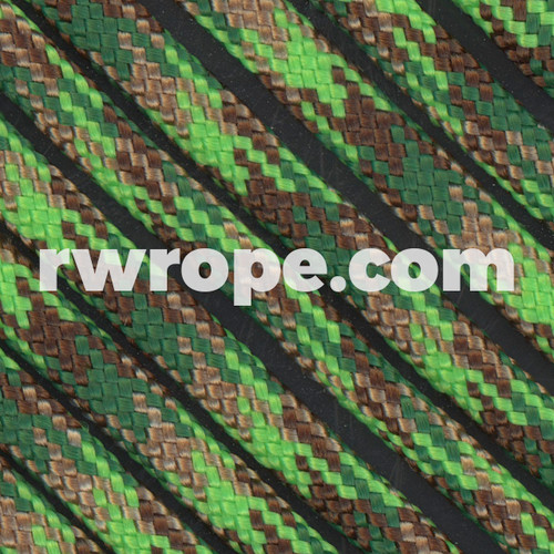 Paracord 425 in Neon Green Flame Camo.