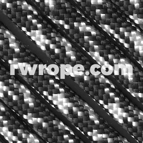 Paracord 425 in Black & White Camo (Zebra).
