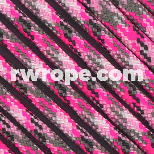 95 Paracord Type 1 in Pretty in Pink.