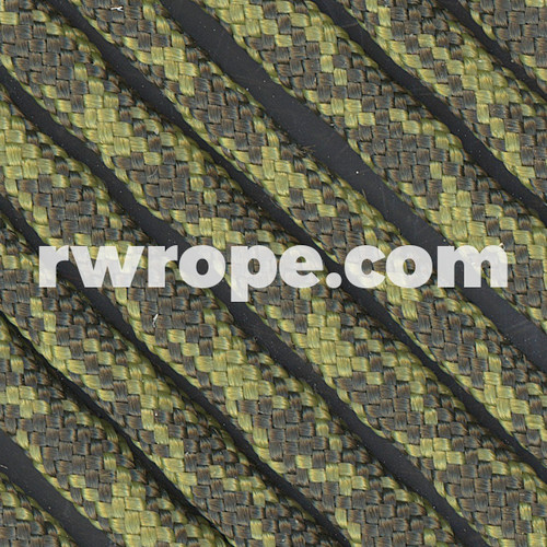 95 Paracord Type 1 in Olive Drab & Moss Camo.