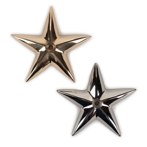 """Decorative Bronze Star - the """"good fortune"""" star to bring your boat or home good luck."""